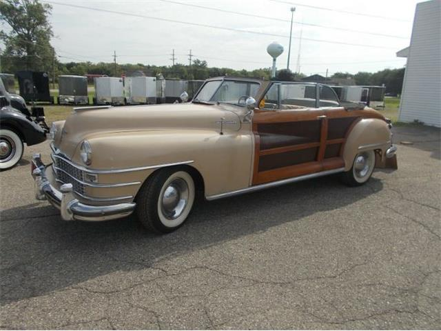 1948 Chrysler Town & Country (CC-1519305) for sale in Cadillac, Michigan
