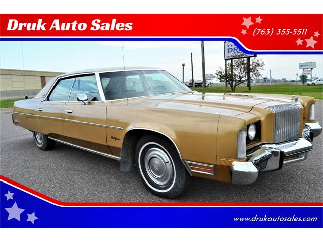 1976 Chrysler New Yorker (CC-1519346) for sale in Ramsey, Minnesota