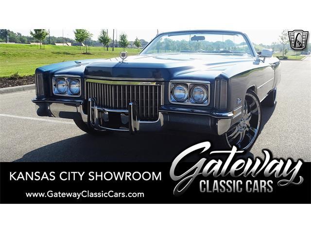 1972 Cadillac Eldorado (CC-1519351) for sale in O'Fallon, Illinois