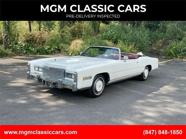 1975 Cadillac Eldorado (CC-1519542) for sale in Addison, Illinois