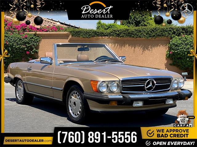 1986 Mercedes-Benz 560SL (CC-1519579) for sale in Palm Desert, California