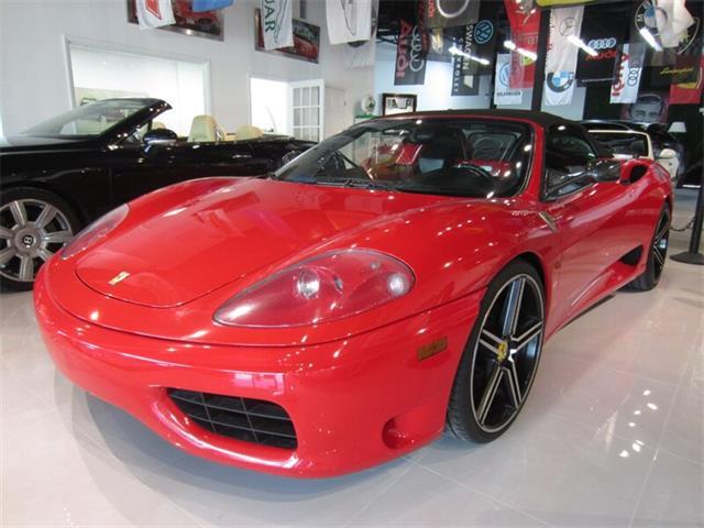 2002 Ferrari 360 Spider (CC-1519598) for sale in Delray Beach, Florida