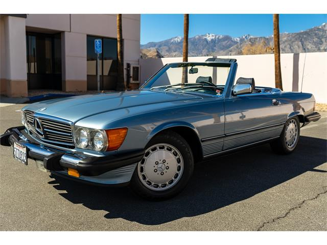 1986 Mercedes-Benz 560SL (CC-1519654) for sale in Palm Springs, California