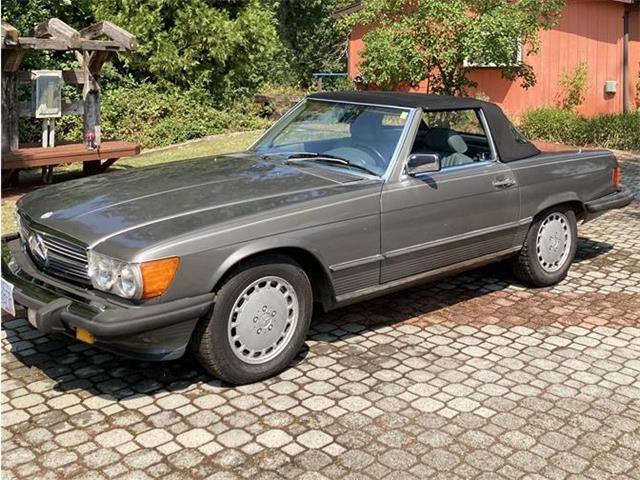 1986 Mercedes-Benz 560SL (CC-1519722) for sale in Cave Junction , Oregon