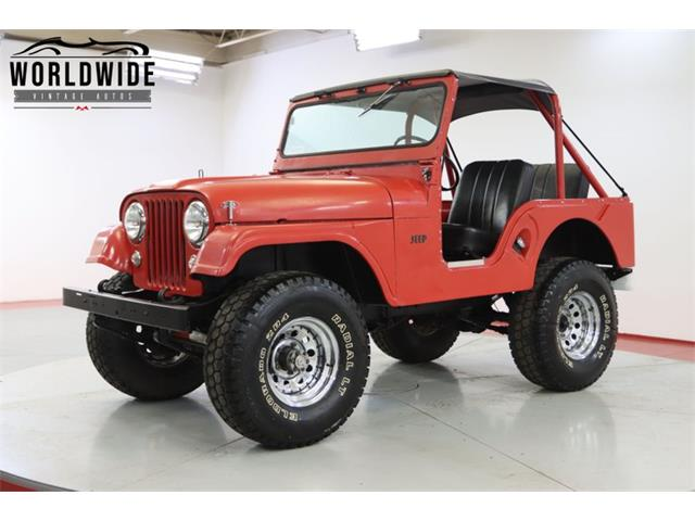 1955 Jeep Willys (CC-1519827) for sale in Denver , Colorado