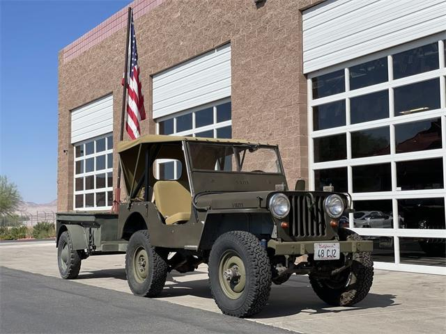 1948 Willys CJ2A (CC-1519878) for sale in Henderson, Nevada