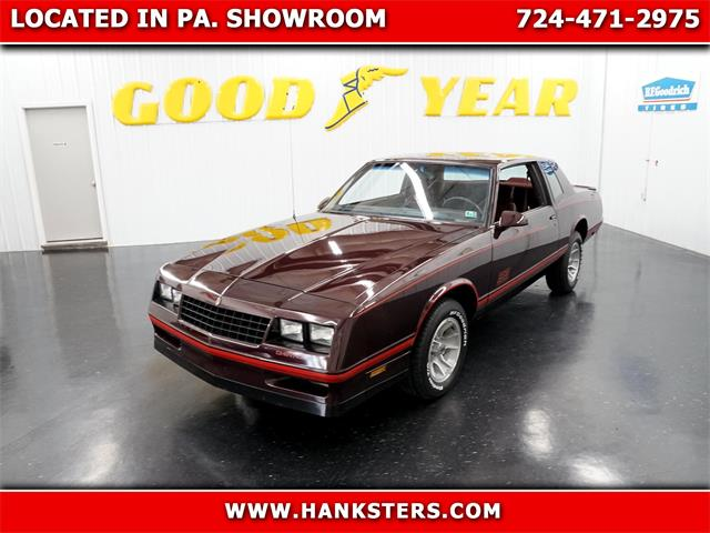 1987 Chevrolet Monte Carlo (CC-1519903) for sale in Homer City, Pennsylvania