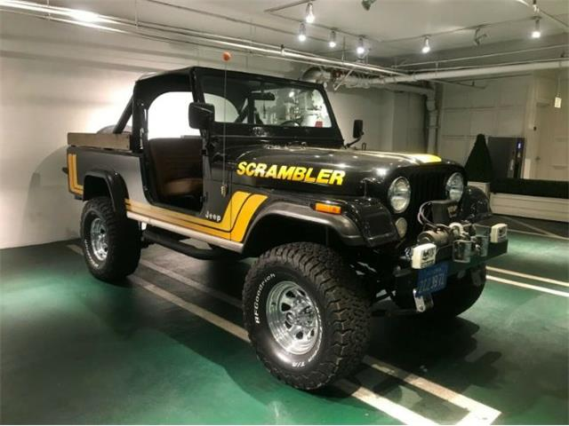 1982 Jeep CJ (CC-1521102) for sale in Cadillac, Michigan