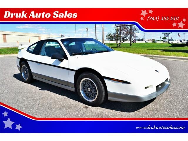 1986 Pontiac Fiero (CC-1521110) for sale in Ramsey, Minnesota