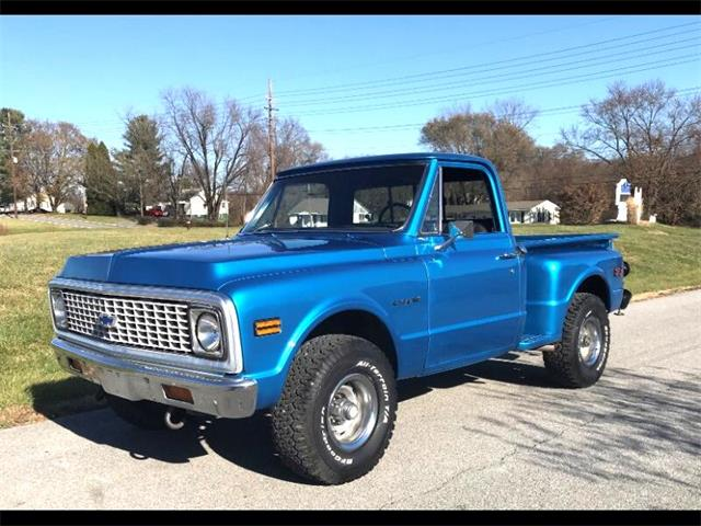1972 Chevrolet C/K 10 (CC-1521202) for sale in Harpers Ferry, West Virginia