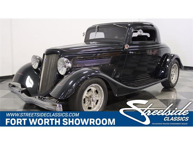 1934 Ford 3-Window Coupe (CC-1521306) for sale in Ft Worth, Texas