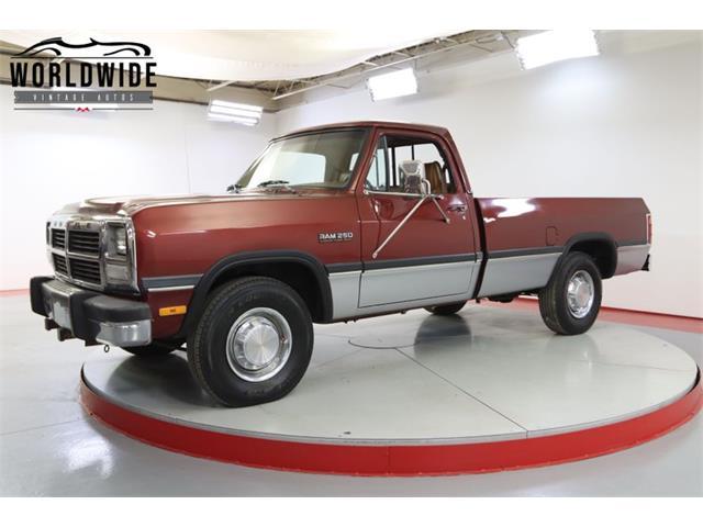 1993 Dodge Ram (CC-1521332) for sale in Denver , Colorado
