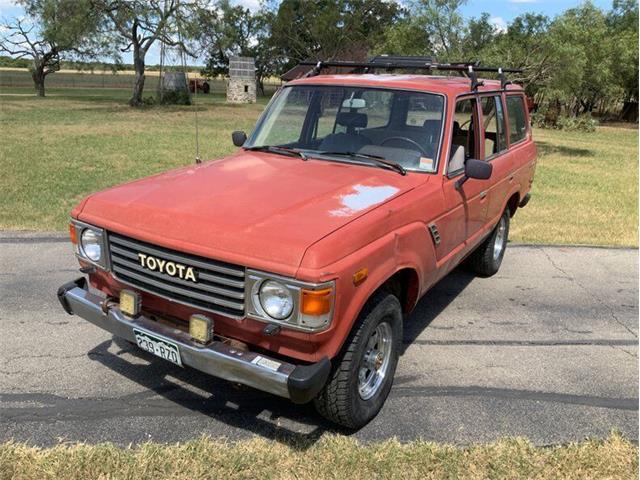 1984 Toyota Land Cruiser FJ (CC-1521456) for sale in Fredericksburg, Texas