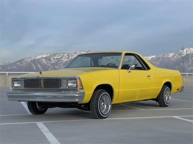 1980 Chevrolet El Camino (CC-1521613) for sale in Cadillac, Michigan