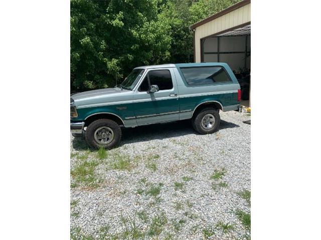 1996 Ford Bronco (CC-1521645) for sale in Cadillac, Michigan