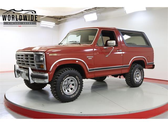 1986 Ford Bronco (CC-1521693) for sale in Denver , Colorado