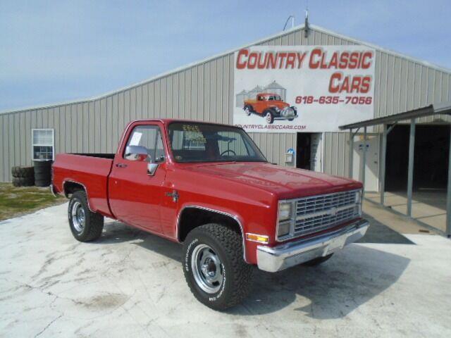 1984 Chevrolet K-1500 (CC-1521730) for sale in Staunton, Illinois