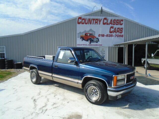 1992 GMC 1500 (CC-1521734) for sale in Staunton, Illinois