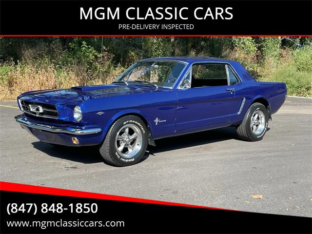 1965 Ford Mustang (CC-1521736) for sale in Addison, Illinois