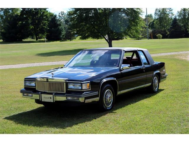 1987 Cadillac Coupe DeVille (CC-1522035) for sale in Goodrich, Michigan