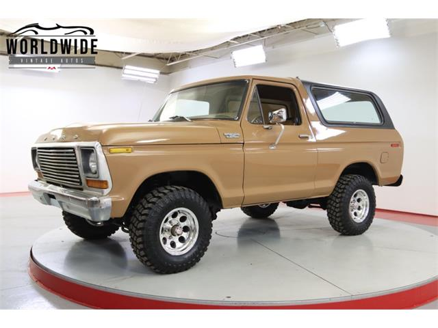 1978 Ford Bronco (CC-1522054) for sale in Denver , Colorado