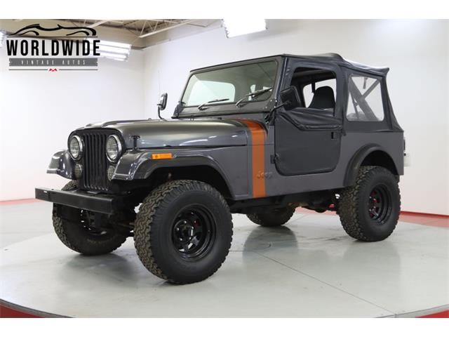 1984 Jeep CJ (CC-1522066) for sale in Denver , Colorado