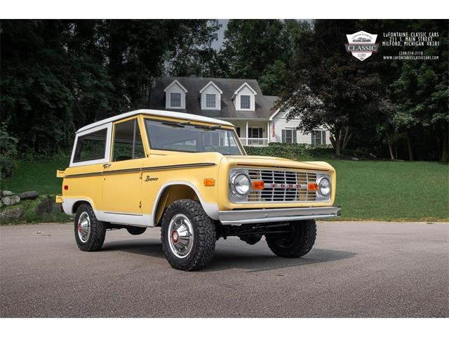 1975 Ford Bronco (CC-1522273) for sale in Milford, Michigan