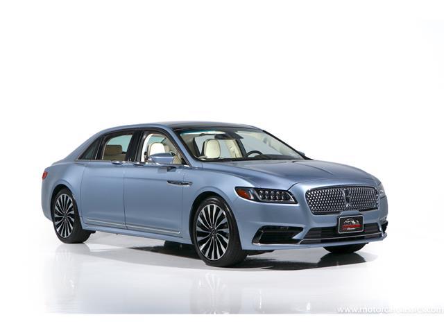 2019 Lincoln Continental (CC-1522573) for sale in Farmingdale, New York