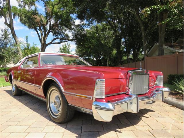1975 Lincoln Continental (CC-1522575) for sale in Lakeland, Florida