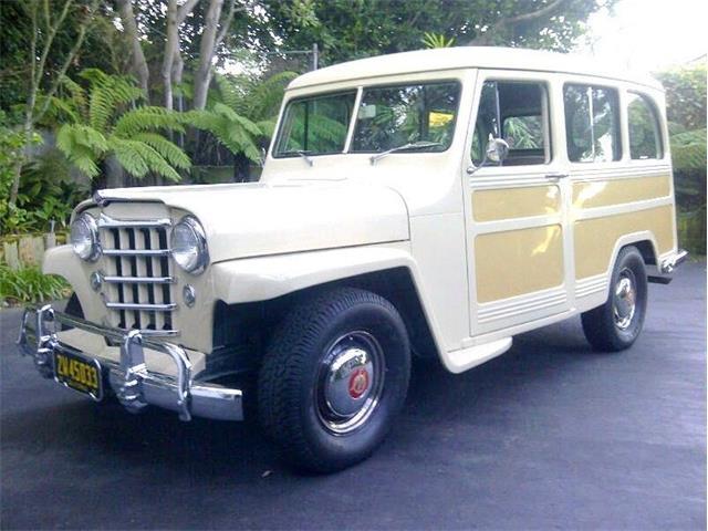 1951 Willys Utility Wagon (CC-1522662) for sale in Laguna Beach, California