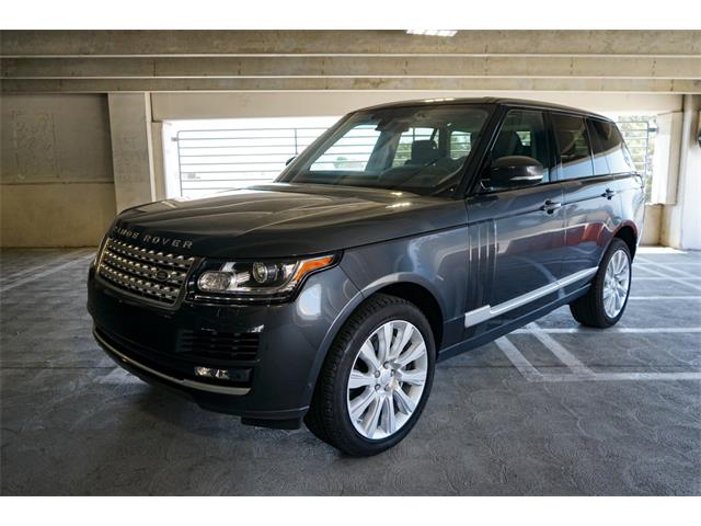2016 Land Rover Range Rover (CC-1522722) for sale in Sherman Oaks, California