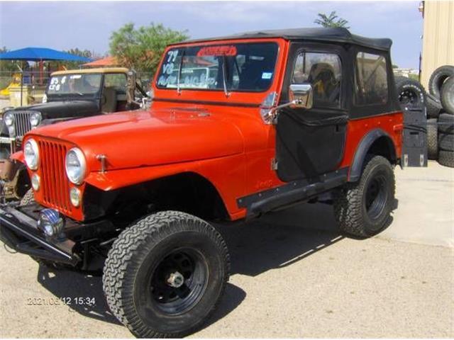1979 Jeep CJ7 (CC-1520288) for sale in Cadillac, Michigan