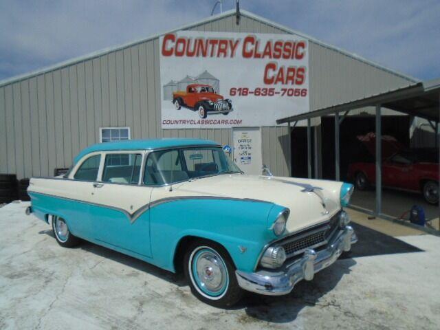 1955 Ford Club Coupe (CC-1522908) for sale in Staunton, Illinois