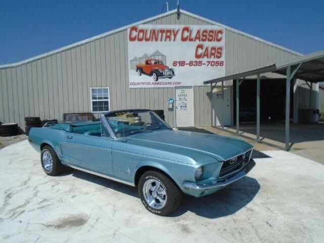 1968 Ford Mustang (CC-1522913) for sale in Staunton, Illinois