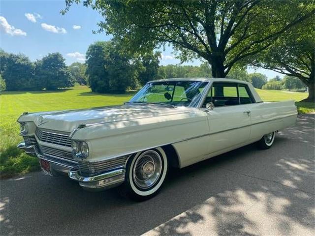 1964 Cadillac Coupe DeVille (CC-1520309) for sale in Cadillac, Michigan