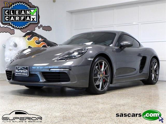 2018 Porsche 718 Cayman (CC-1523185) for sale in Hamburg, New York
