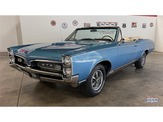 1967 Pontiac GTO (CC-1523230) for sale in Fairfield, California