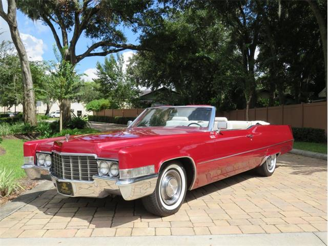 1969 Cadillac DeVille (CC-1523245) for sale in Lakeland, Florida