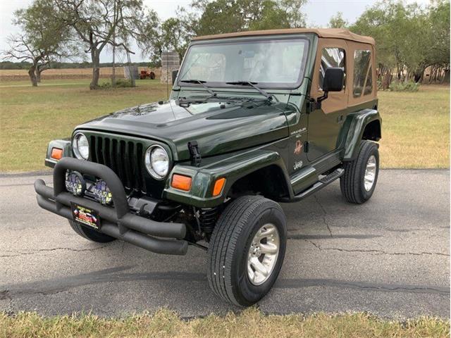 1997 Jeep Wrangler (CC-1523252) for sale in Fredericksburg, Texas