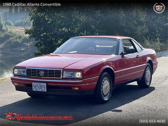 1988 Cadillac Allante (CC-1523260) for sale in Gladstone, Oregon