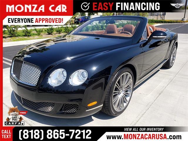 2010 Bentley Continental GTC (CC-1523291) for sale in Sherman Oaks, California