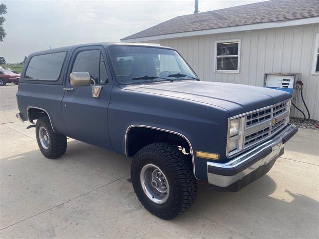 1987 Chevrolet Blazer (CC-1523478) for sale in Brookings, South Dakota