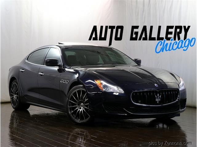 2015 Maserati Quattroporte (CC-1523484) for sale in Addison, Illinois