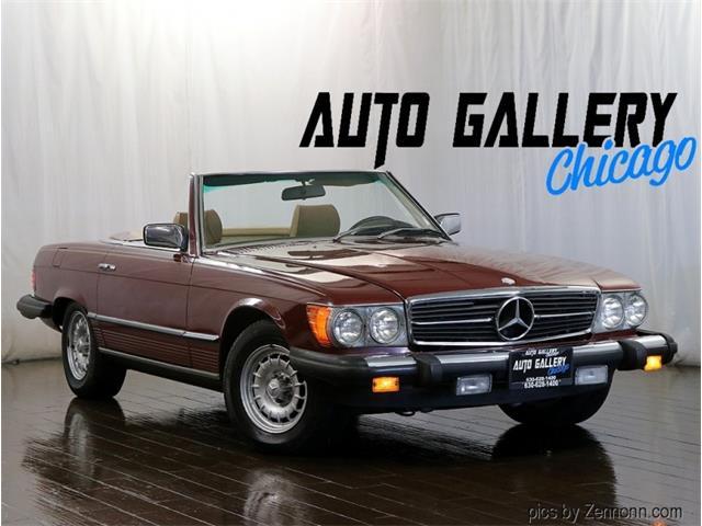 1980 Mercedes-Benz 450SL (CC-1523507) for sale in Addison, Illinois