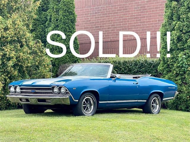 1969 Chevrolet Chevelle (CC-1523678) for sale in Geneva, Illinois
