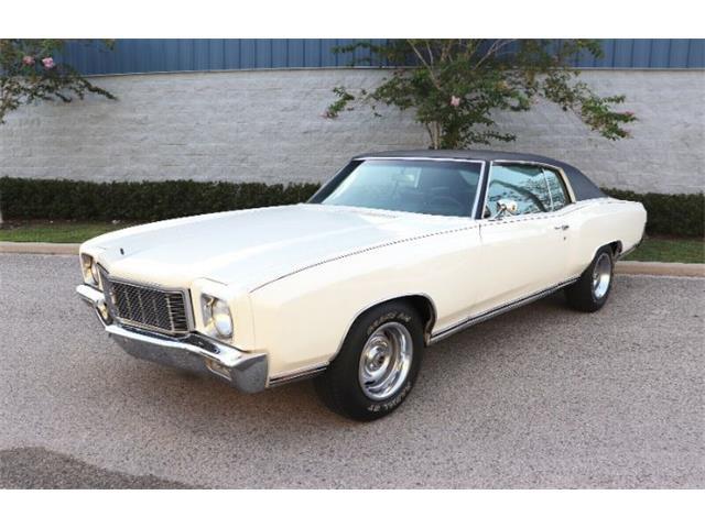 1971 Chevrolet Monte Carlo (CC-1523718) for sale in Cadillac, Michigan