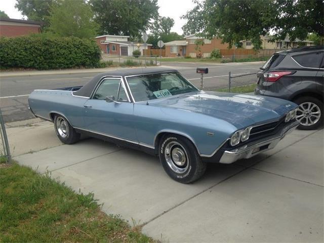 1969 Chevrolet El Camino (CC-1523745) for sale in Cadillac, Michigan