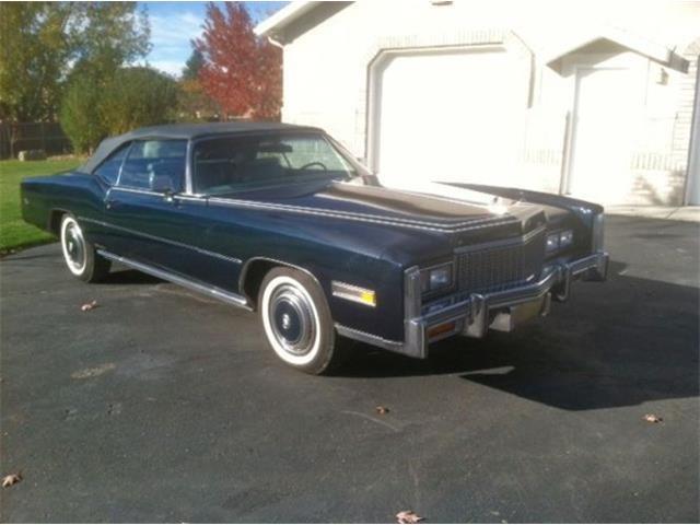 1976 Cadillac Eldorado (CC-1523760) for sale in Cadillac, Michigan