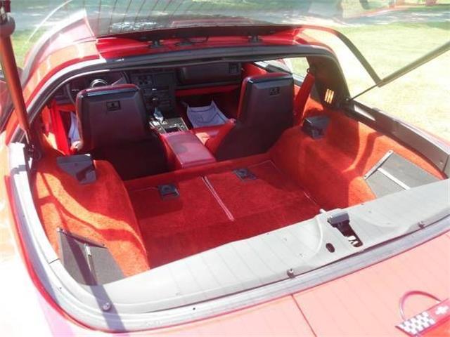 1986 Chevrolet Corvette (CC-1523764) for sale in Cadillac, Michigan