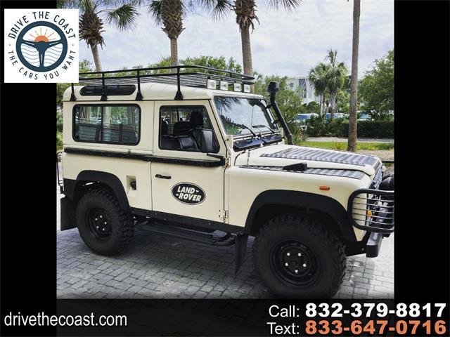 1990 land rover defender for sale classiccars.com cc-1523856